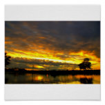 Blackheath Sunset Poster
