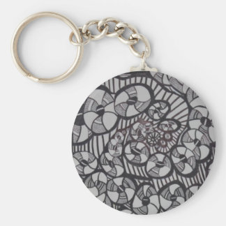 BlackHole Donut Factory Keychain