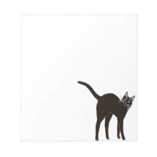 Blackie the Black Cat Notepad