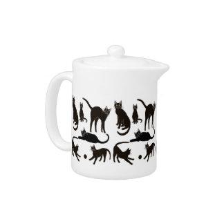 Blackie the Black Cat Teapot
