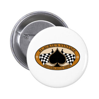 Blackie's Vintage Motorcycle Shop Pinback Button