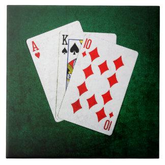 Blackjack 21 point - Ace, King, Ten Tile