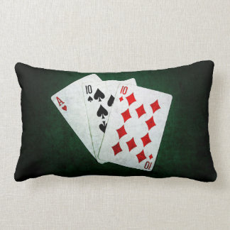 Blackjack 21 point - Ace, Ten, Ten Lumbar Pillow