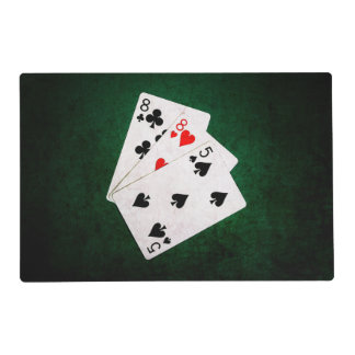 Blackjack 21 point - Eight, Eight, Five Placemat