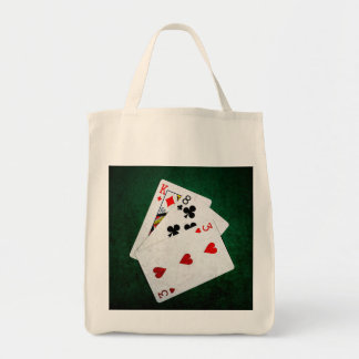 Blackjack 21 point - King, Eight, Three Tote Bag