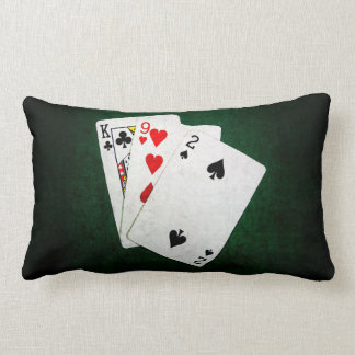 Blackjack 21 point - King, Nine, Two Lumbar Pillow