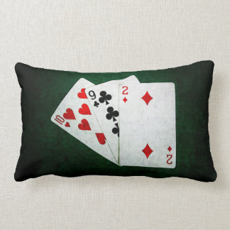Blackjack 21 point - Ten, Nine, Two Lumbar Pillow