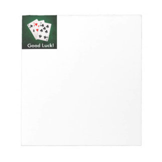 Blackjack 21 - Seven, Seven, Seven Notepad
