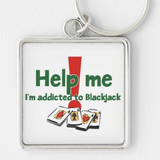 Blackjack Addict's Keychain