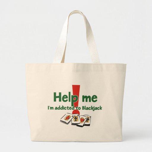 Blackjack Addict's tote bag