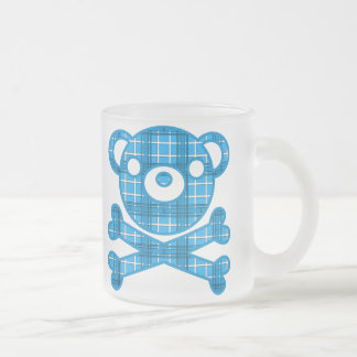 BlackJack(Bear) Frosted Glass Coffee Mug