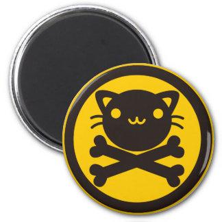 BlackJack(Cat) Fridge Magnet