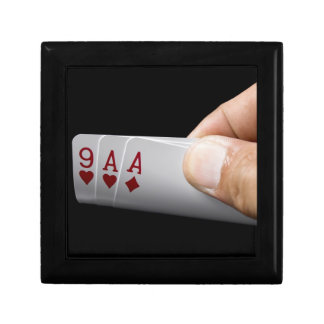 Blackjack Hand - 9 and 2 Aces Gift Box