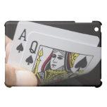 Blackjack Hand - Ace and Queen iPad Mini Case