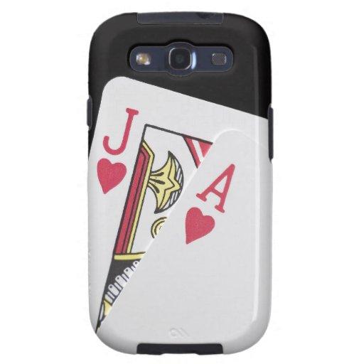 Blackjack Hand - Jack and Ace Samsung Galaxy SIII Case