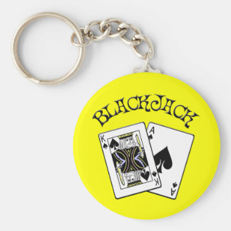 BLACKJACK KEYCHAIN