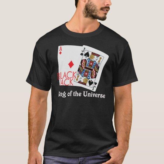 Blackjack King of the Universe Shirt