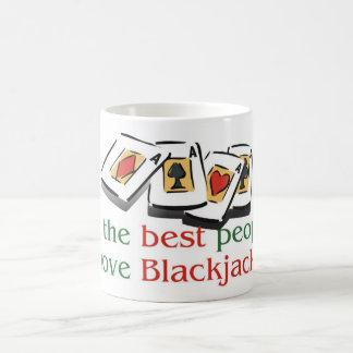 Blackjack morphing mug