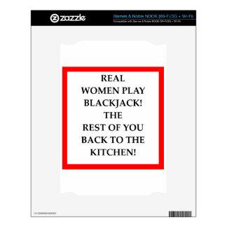 BLACKJACK NOOK SKIN