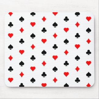 Blackjack / Poker Card Suits: Mousepad