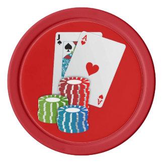 Blackjack Poker Chips
