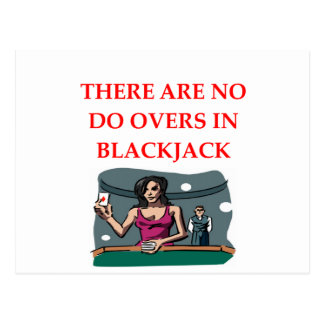 BLACKJACK POST CARDS