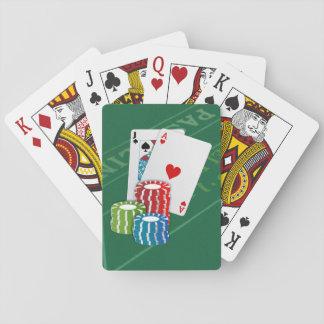 Blackjack with Poker Chips Poker Cards