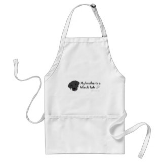BlackLabBrother Adult Apron