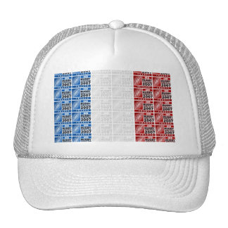 blackLabel_topple1, halo-3, french-flag Trucker Hat