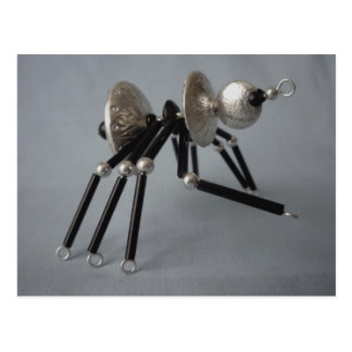 blackleg spider postcard