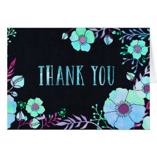 Blacklight Blues Thank You Card