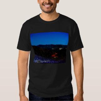Blacklight Desert Landscape and Blood River by KLM T-Shirt