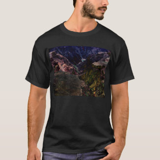 Blacklight Grand Canyon -close up-by KLM T-Shirt