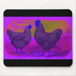 BlackLight Mouse Pad