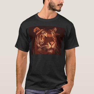 Blacklight Tiger Face T-Shirt