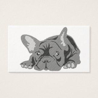 Blackline French Bulldog cards