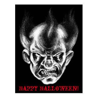 BlackLines Horror Killa Klown Postcard