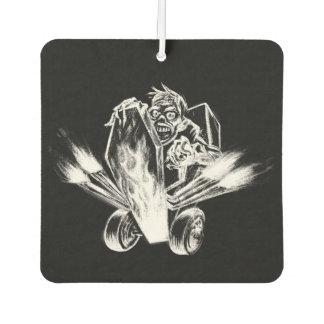 BlackLines Horror Zombie Hotrod Air Freshener