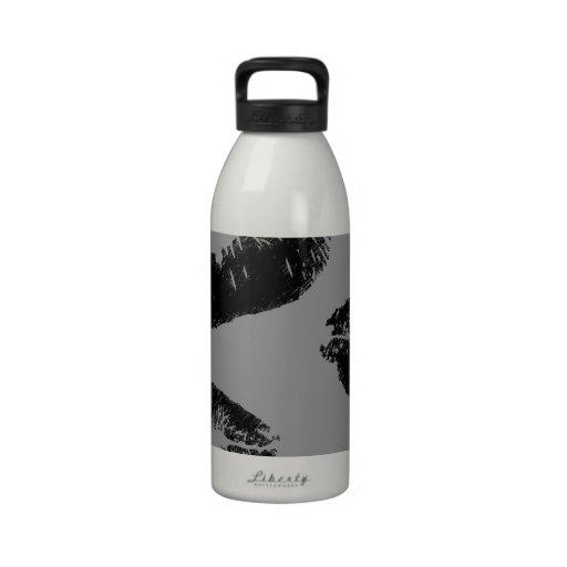 blacklipsfor zazzle01.jpg botella de agua reutilizable