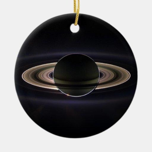 Blacklit Saturn Ornamento Para Reyes Magos