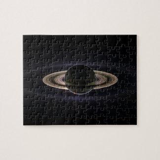 Blacklit Saturn Rompecabeza