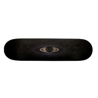 Blacklit Saturn Skateboard Deck
