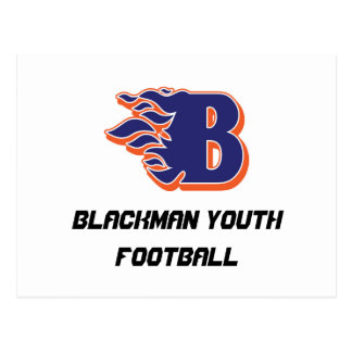 Blackman Blaze Youth Football and Cheerleading Postcard