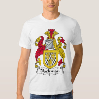 Blackman Family Crest T Shirt