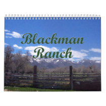Blackman Ranch Calendar