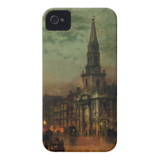 Blackman Street, London by John Atkinson Grimshaw iPhone 4 Cover