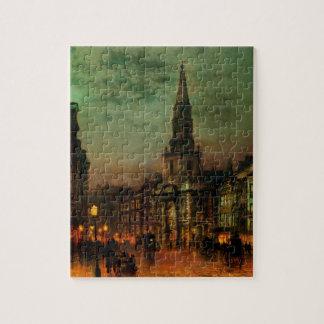 Blackman Street, London by John Atkinson Grimshaw Jigsaw Puzzle