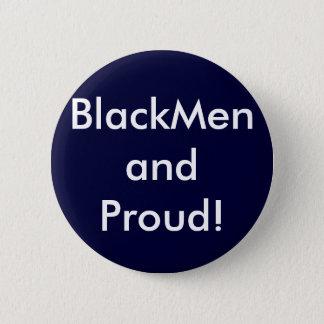 BlackMen and Proud! Pinback Button