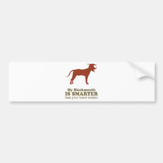 Blackmouth Cur Bumper Stickers