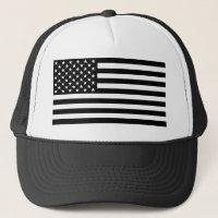 Blackout American Flag